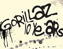 Gorillaz Magazine Spread
