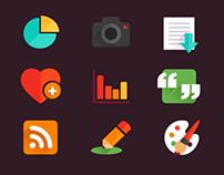 Freebie Flat Icons