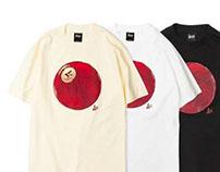 LESS ball T-shirts.