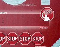 Stop Sign Preacher