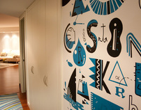 Home mural