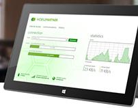 Huawei Mobile Partner - Windows 8 Desktop App