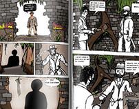 Jack Rover Comic Book