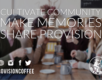 Provision Coffee Flyer