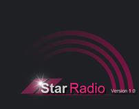 Star Radio App UI
