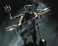 Ganesh Warrior