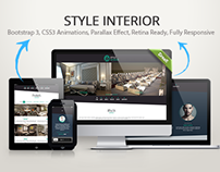 Style Interior Bootstrap 3 Site Template
