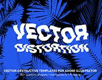 Vector Distortion Kit for Adobe Illustrator