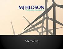 MJ Hudson Branding Adverts