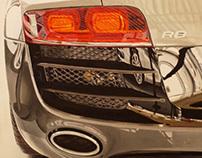 Fotorrealismo Audi R8