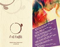 ArtCaffe // Logo Design // Print
