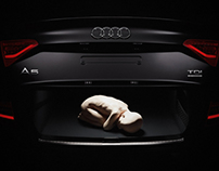 "Image campaign for event ""Breakfast in Audi"""