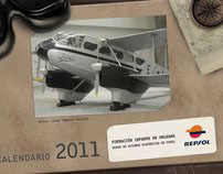 Repsol | Calendar for Fundación Infante de Orleans