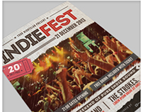 Indie Fest Flyer/Poster + FB Cover