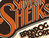 The Shiverin' Sheiks Poster