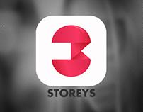 3storeys -  Identity & Web design