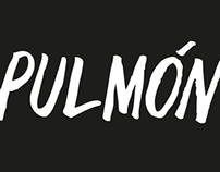 Pulmón - Hand lettered logo