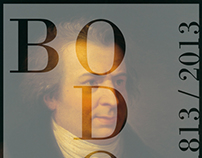 Bicentenary death of Giambattista Bodoni // Poster