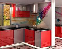 High Gloss Kitchen...
