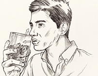 Mr Porter Editorial Sketches