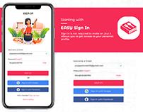 UI-UX Design Indian App Khana Banana Shikhe