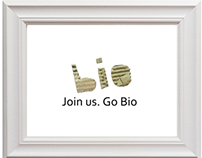 Stop plastic bags. Join us. Go BIO!