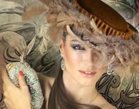 Vintage Hats & Jewelery