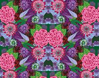 Patrones Primavera - Estampado textil