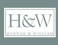 Hannah and William Corporate identity