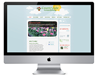Countryside Greenhouse Website Design