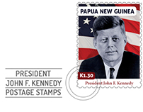 JFK Postage Stamps