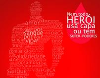 Banner para Campanha de Doação de Sangue