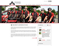 Ascension Cycling Website Design