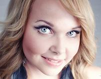 PähkinäHius - Hair and makeup photoshoot