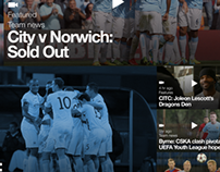 Manchester City iPad App