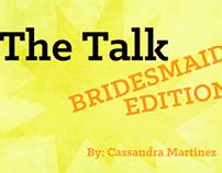 Bridesmaids Kinetic Typography & Storyboard (2013)