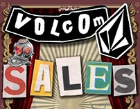 Sales Poster :: Volcom Malaysia