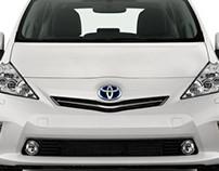 Prius V print ad