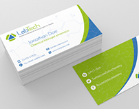 Chemistry Business Card Design