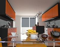 Architectural Visualisation -- Kitchen