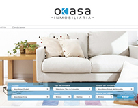 Okasa inmobiliaria - web