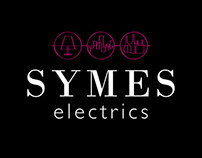 Symes Electrics Branding