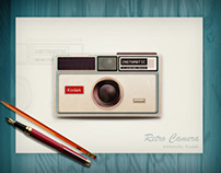 Instamatic Retro Camera