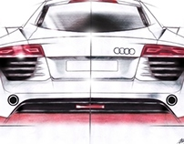 My vision project 'wide body R8'