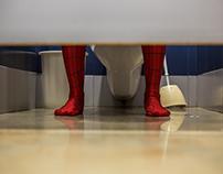 Comic Con: o Homem-Aranha está no WC