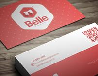 Cartão de Visitas - Belle Petit