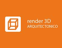Render 3D Arquitectonico