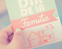Tarjetas, DIA DE LA FAMILIA.