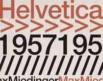 Cartaz Helvetica