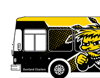 Wichita State Bus Wrap